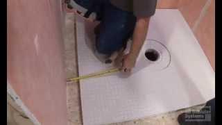 dimensions et formats des receveurs de douche. Black Bedroom Furniture Sets. Home Design Ideas