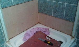 Comment enlever un bac de douche - Comment carreler un receveur de douche ...