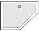 Comment choisir le bon format de receveur - Receveur douche pentagonal ...