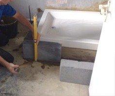 Installer un receveur de douche sur lever - Installer un receveur de douche a poser ...
