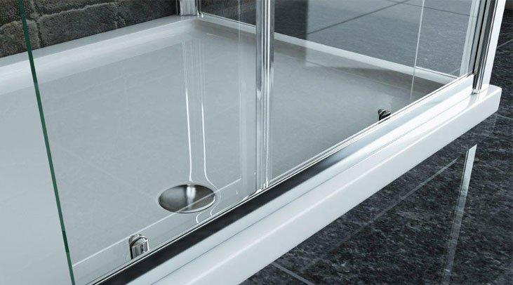 Receveurs de douche 140x80cm 140 x 80 cm for Grand receveur de douche