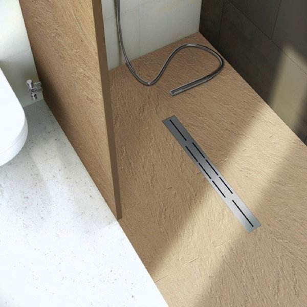 Le bac de douche en pierre | granit | marbre: le haut de gamme