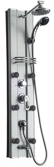 colonne de douche en aluminium