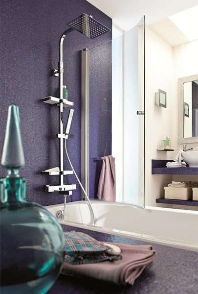 installer une colonne de douche dans une baignoire. Black Bedroom Furniture Sets. Home Design Ideas