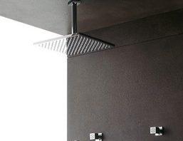 La colonne de douche encastrée | encastrable: un design minimaliste