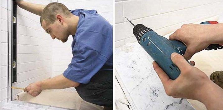 Installer une paroi de douche for Installer une porte de douche