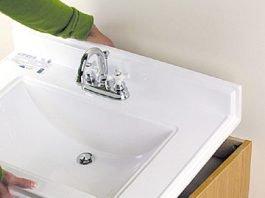 la vasque de salle de bain: à poser, à encastrer ou en sous plan ... - Installer Un Lavabo Salle De Bain