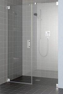 Paroi de douche avec charni res for Douche italienne sans paroi