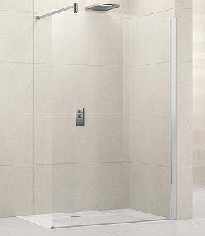 paroi de douche fixe