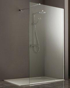 installer une paroi de douche en verre