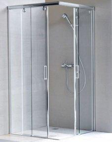 Porte de douche coulissante - Paroie de douche coulissante ...