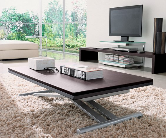 Table basse relevable le guide ultime les designs et les - Table de salon modulable ...
