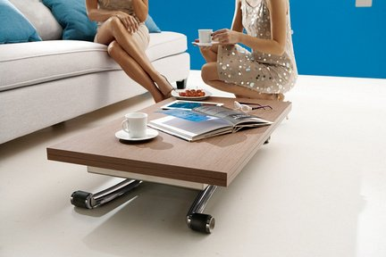 table basse relevable rectangulaire