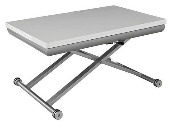 Le guide de la table relevable et transformable - Table salon modulable hauteur ...
