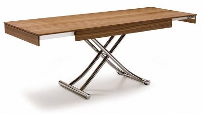 Table basse relevable en bois for Table basse bois relevable