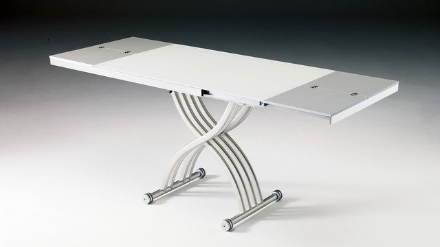 La table basse relevable extensible prix et astuces - Table relevable extensible but ...