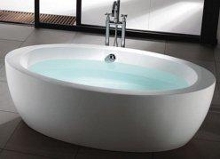 Baignoire lot - Salle de bain avec baignoire sur pied ...