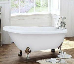 Le guide de la petite baignoire pratique for Baignoire sabot sur pied
