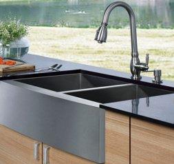 Le guide de l 39 vier de cuisine astuces et tarifs - Evier de cuisine en granite ...