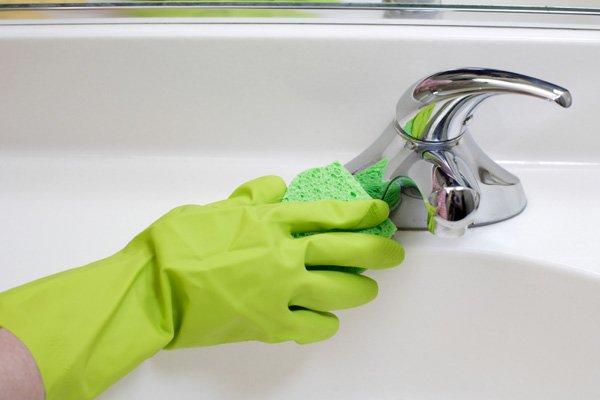 entretenir une vasque ou un lavabo - consobrico.com - Entretien Salle De Bain