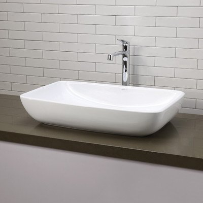 Vasque rectangulaire for Salle de bain rectangulaire 8m2