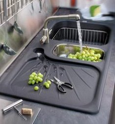 evier de cuisine guide d 39 achat astuces d 39 installation et tarifs. Black Bedroom Furniture Sets. Home Design Ideas