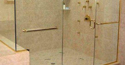 Accessoires de porte de douche - Poignee porte de douche ...