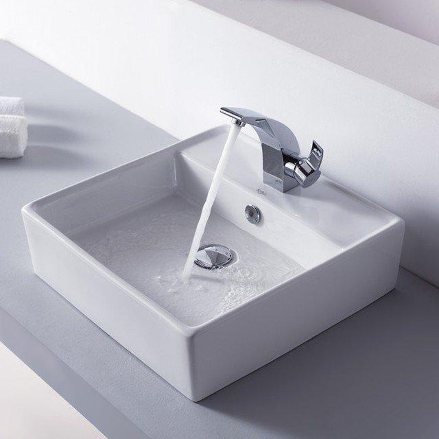vasque carrée