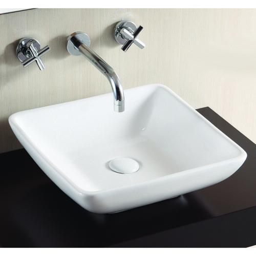 vasque de salle de bain carrée