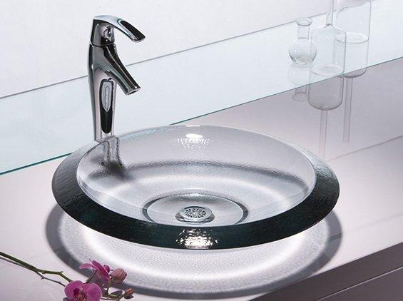 Vasque En Verre