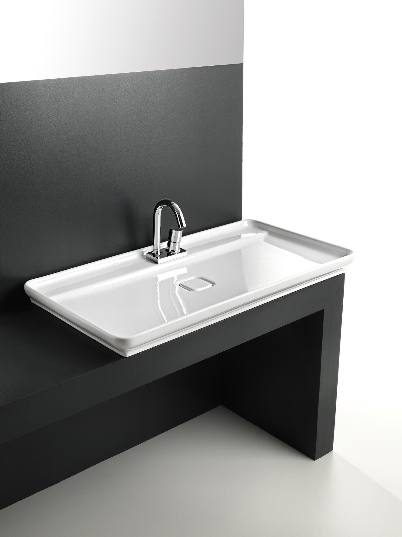 awesome salle de bain lavabo inox images awesome. Black Bedroom Furniture Sets. Home Design Ideas