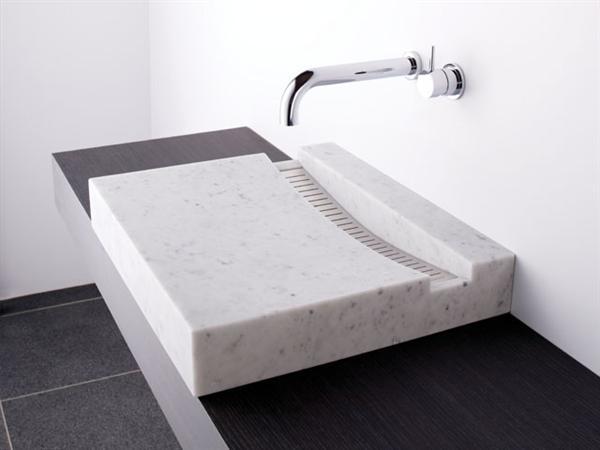 vasque en pierre marbre et granit. Black Bedroom Furniture Sets. Home Design Ideas
