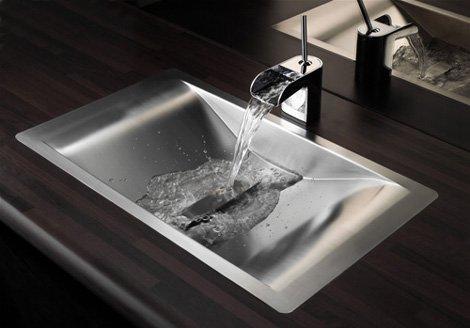 vasque encastrée de salle de bain