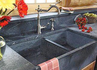 Evier de cuisine en pierre, marbre ou granit - ConsoBrico.com