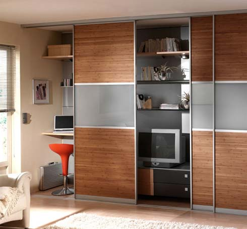 Installer une porte de placard coulissante - Installer des portes coulissantes ...
