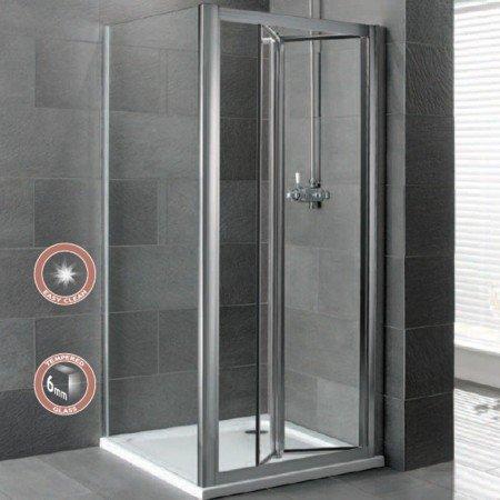 gagner de l espace dans votre sdb porte de douche pliante. Black Bedroom Furniture Sets. Home Design Ideas