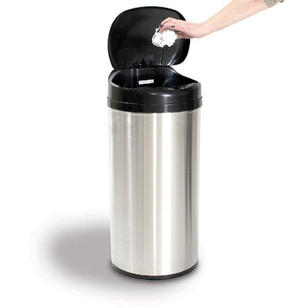 Avantages et inconv nients d une poubelle automatique for Habitat poubelle cuisine