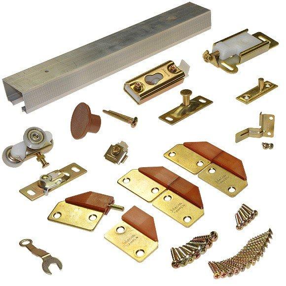 Portes de placard en kit - Kit rail porte coulissante placard ...