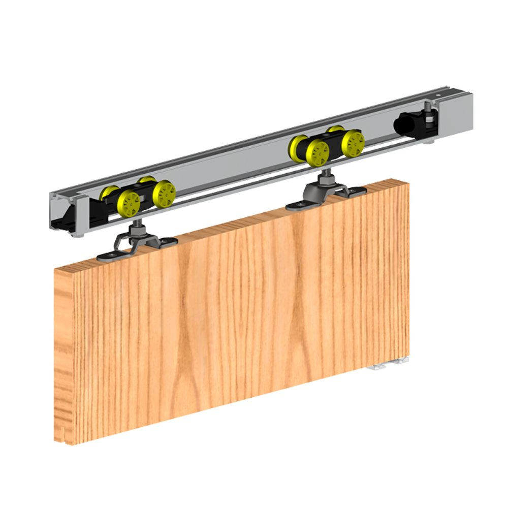 Porte coulissante le guide d 39 achat complet 2018 for Fixation rail porte coulissante