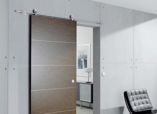 installer une porte coulissante conseils et tapes. Black Bedroom Furniture Sets. Home Design Ideas