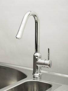design du robinet avec cuisine