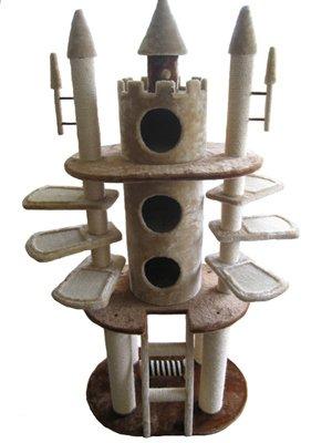 arbre chat en forme de chateau