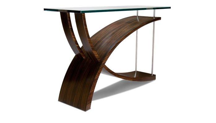 console design en bois