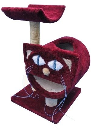 jouet pour chat en forme de matou