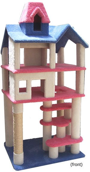 maison de poupée pour matou