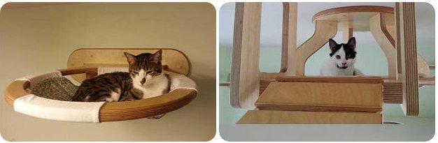 mobilier-pour-chat Le mobilier pour chat GOLDTATZE: votre félin va en rêver!
