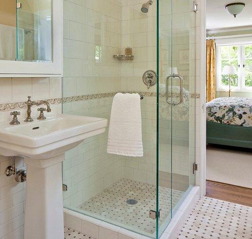 11 idees design de receveur de douche for Carrelage pour receveur douche