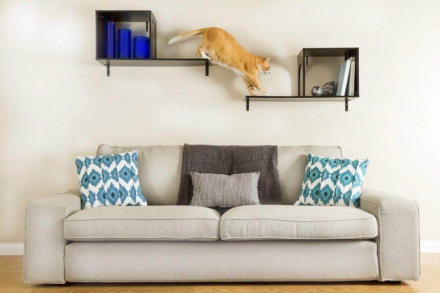 arbre a chat quelles solutions pour les petits appartements. Black Bedroom Furniture Sets. Home Design Ideas