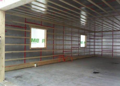 ... Isolation Du Garage ...