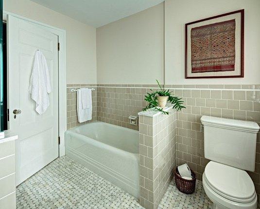 baignoire en acrylique blanche